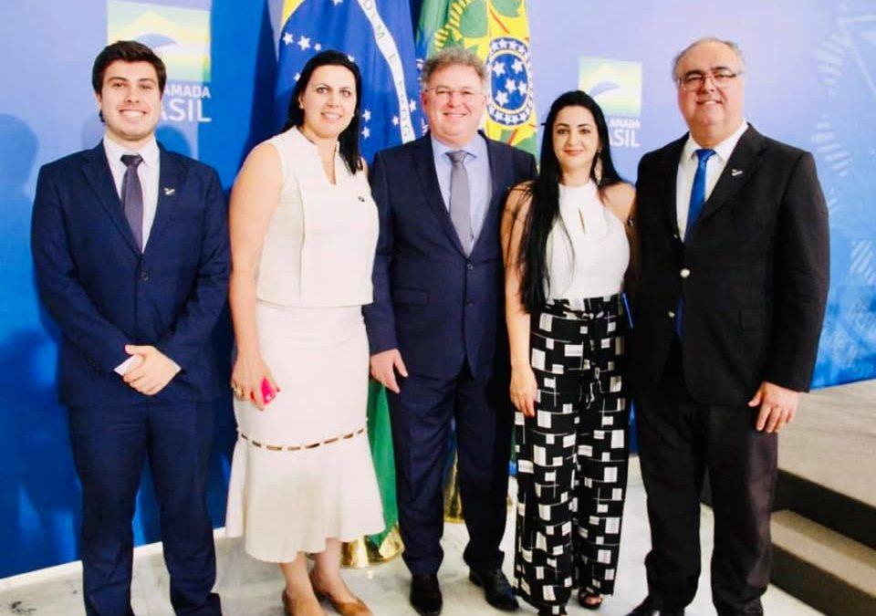 Comitiva de Bariri visita Brasília em busca de recursos