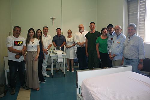 Santa Casa recebe doação de equipamento