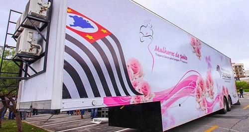 Jaú: Praça do Museu terá carreta da mamografia
