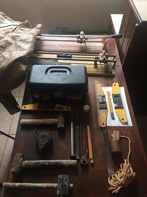 PM localiza ferramentas furtadas