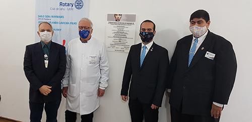 Evento marca inauguração simbólica da nova sala de próteses faciais do HAC com tecnologia 3D