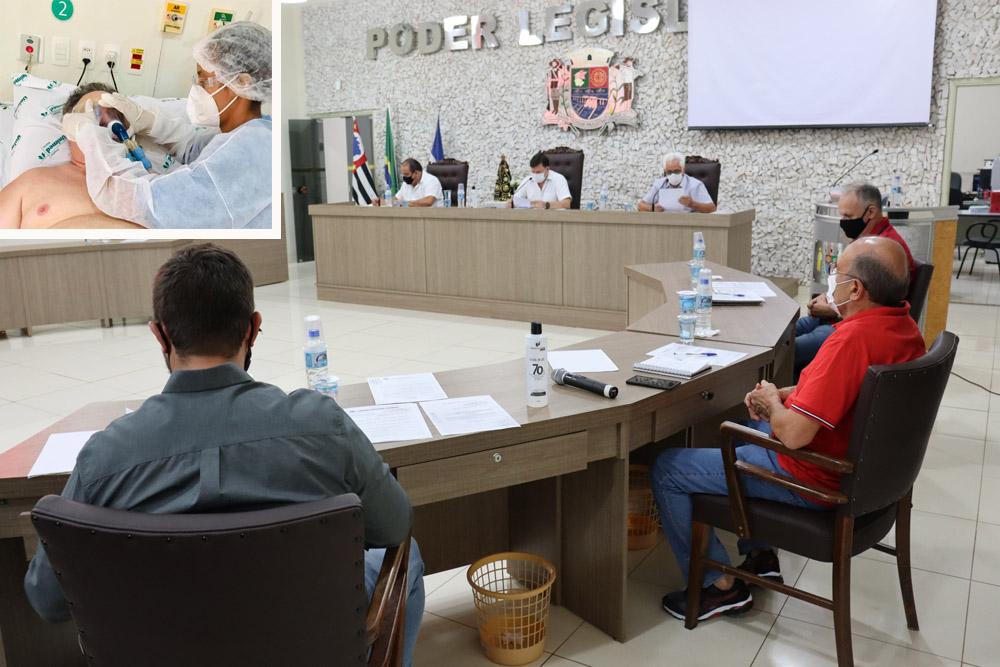 Bariri: Neto pede à Câmara autorização de ausência para tratamento