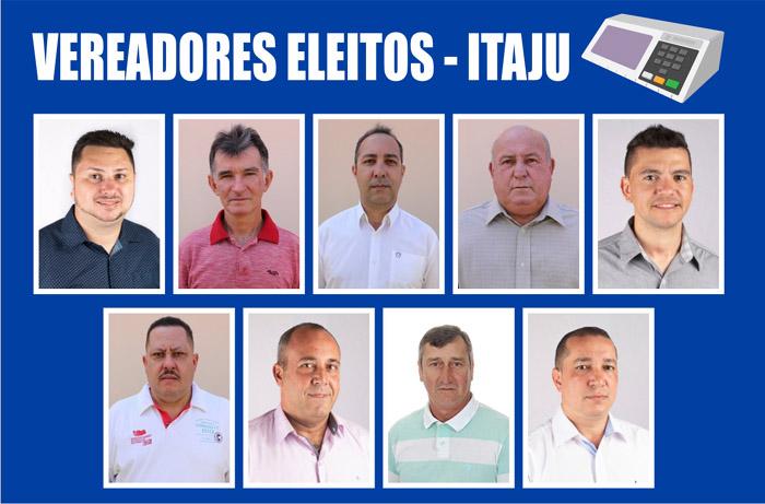 Itaju: Confira a lista de vereadores eleitos