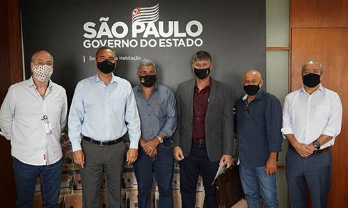 Prefeito e vereadores de Boraceia cumprem agenda em São Paulo