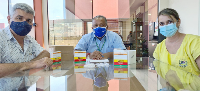 Boraceia doa kits de entubação para Lençóis Paulista