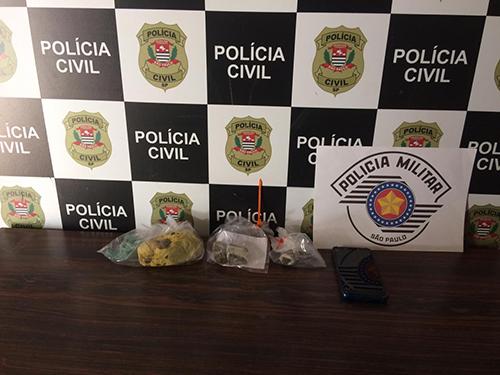 Em operação, polícias Civil e Militar prendem quatro por tráfico