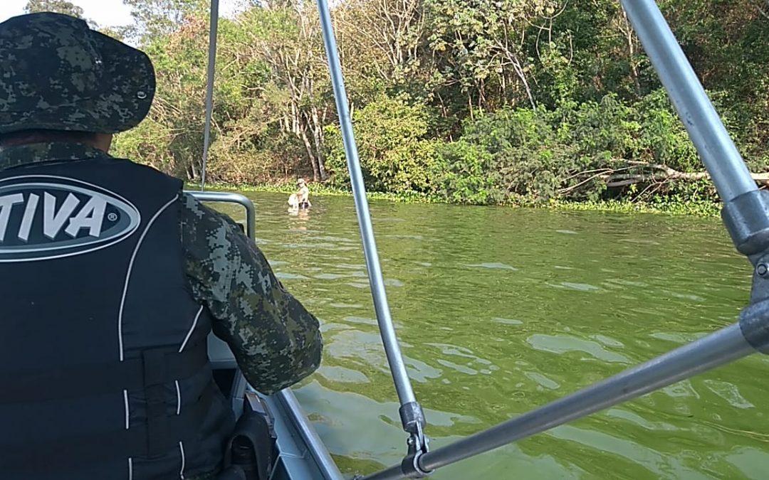 PM Ambiental flagra pesca ilegal em Boraceia