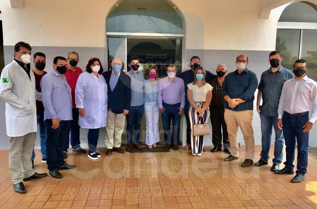 BARIRI: Deputado Arnaldo Jardim visita Santa Casa